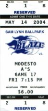 OUR FIRST CAL LEAGUE GAME OF THE SEASON - MAY 14, 2004