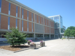 The I. D. Weeks Library at the University of South Dakota