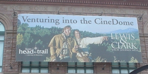 Lewis & Clark Imax movie at the Washington Pavillion in Sioux Falls, SD