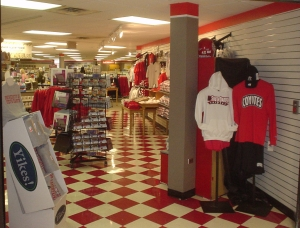 The student store on the campus of the University of South Dakota